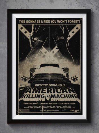 American Killing Machine   Poster