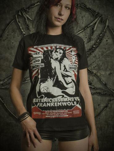 Satanic Lesbians vs Frankenwolf | www.ultratrash.com