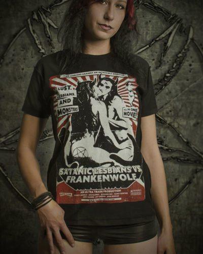 Satanic Lesbians vs Frankenwolf   www.ultratrash.com