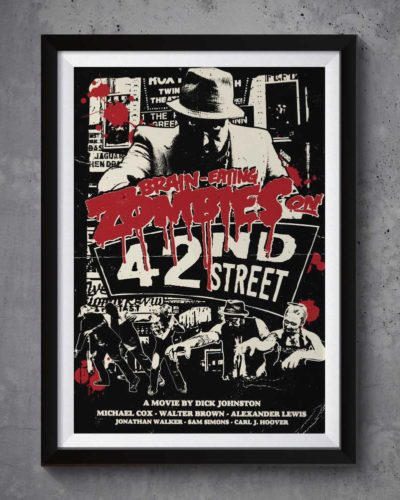Zombies on 42nd Street | Poster