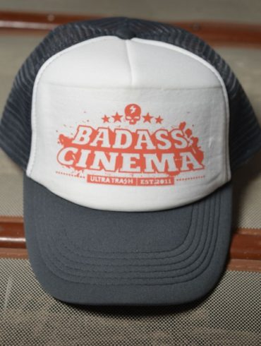Badass Cinema Trucker Cap by Ultra Trash | www.ultratrash.com
