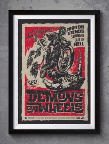 Demons on wheels | www.ultratrash.com
