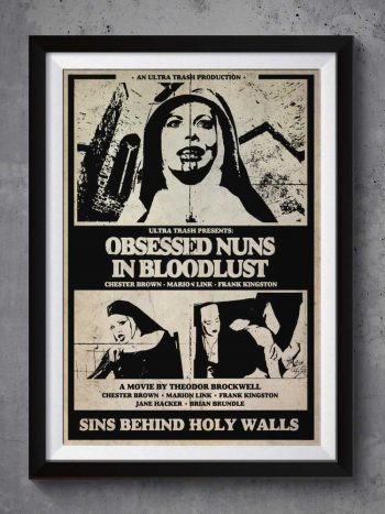 Obsessed Nuns in Bloodlust | Poster