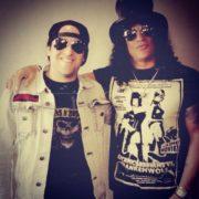 ultra trash slash Guns and Roses carlos Martinez