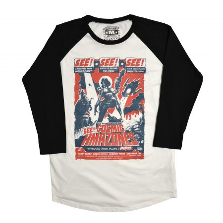 Cosmic Amazones Unisex Baseball T-Shirt