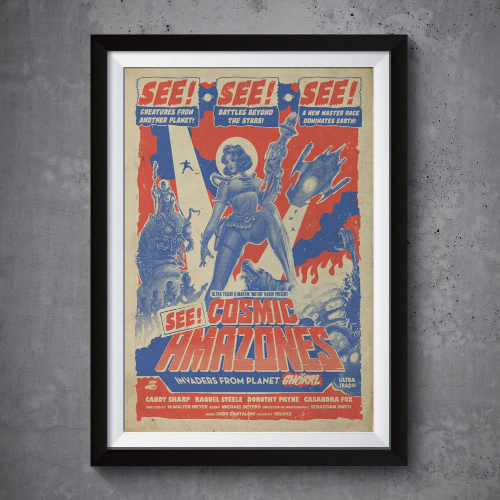 ultra-trash-cosmic-amazones-poster
