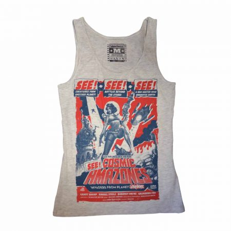 Comic Amazones Tank Top