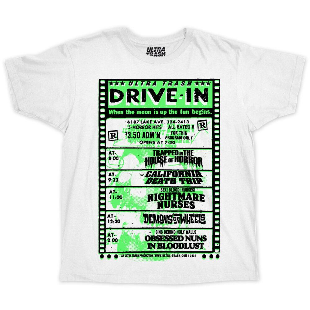 Ultra Trash Drive in T-Shirt Grün
