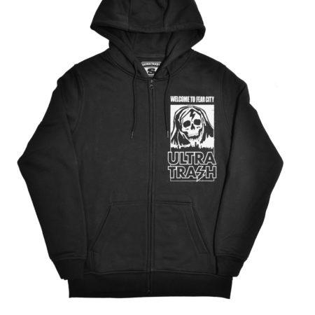Fear City hooded zipper