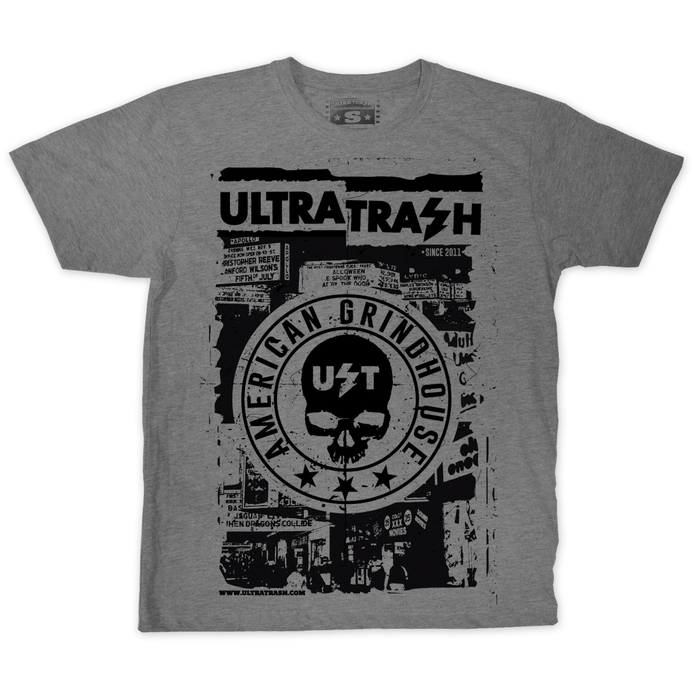 Grindhouse Memories T-Shirt gray