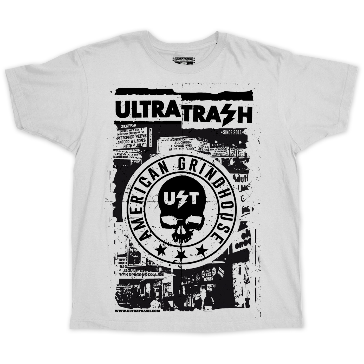 Grindhouse Memories T-Shirt White