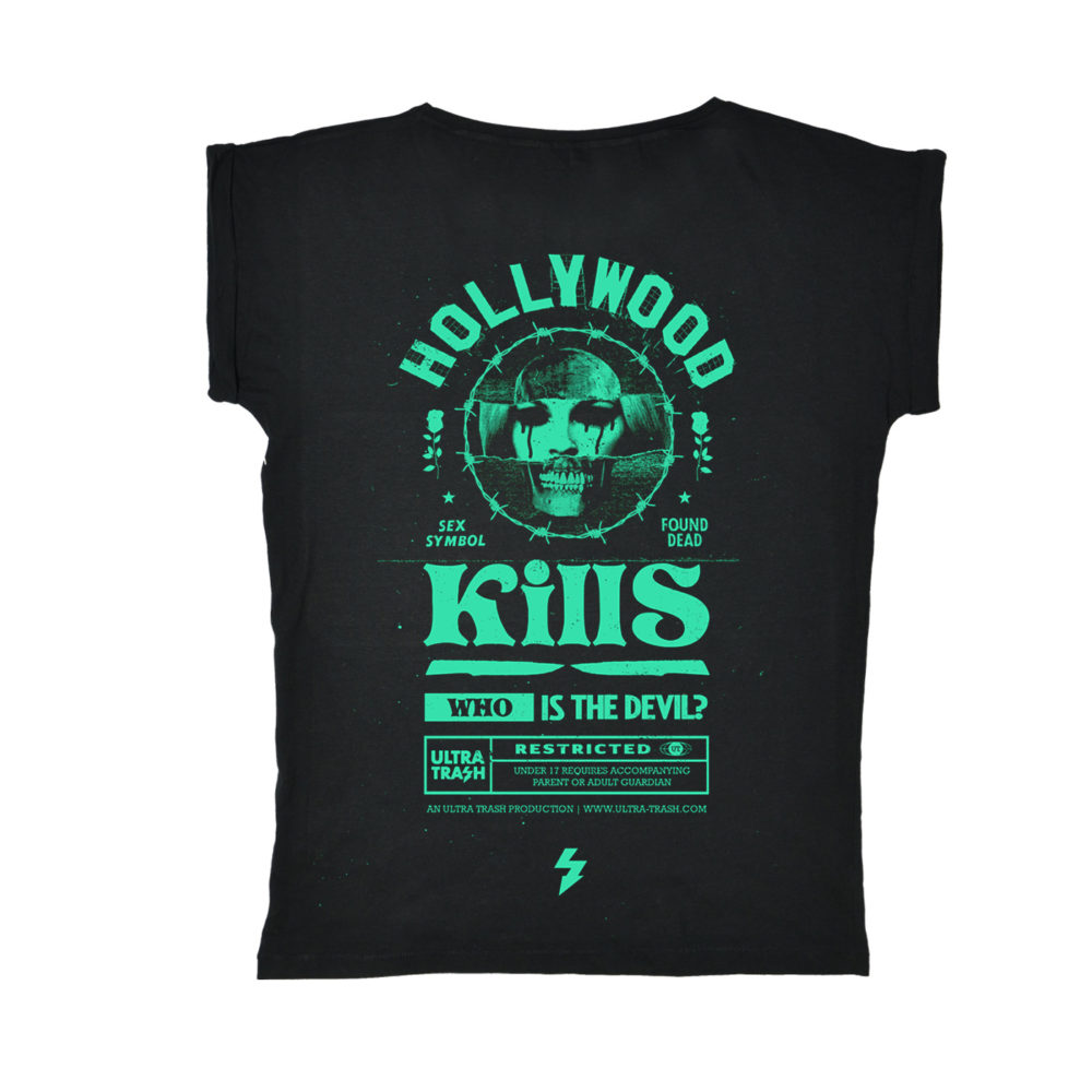 Hollywood Kills Ladies Tee