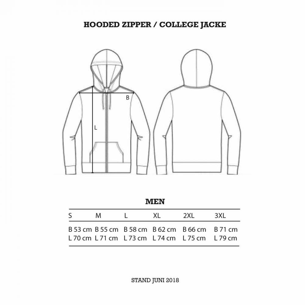 ultra-trash-hooded-zipper-college-jacke