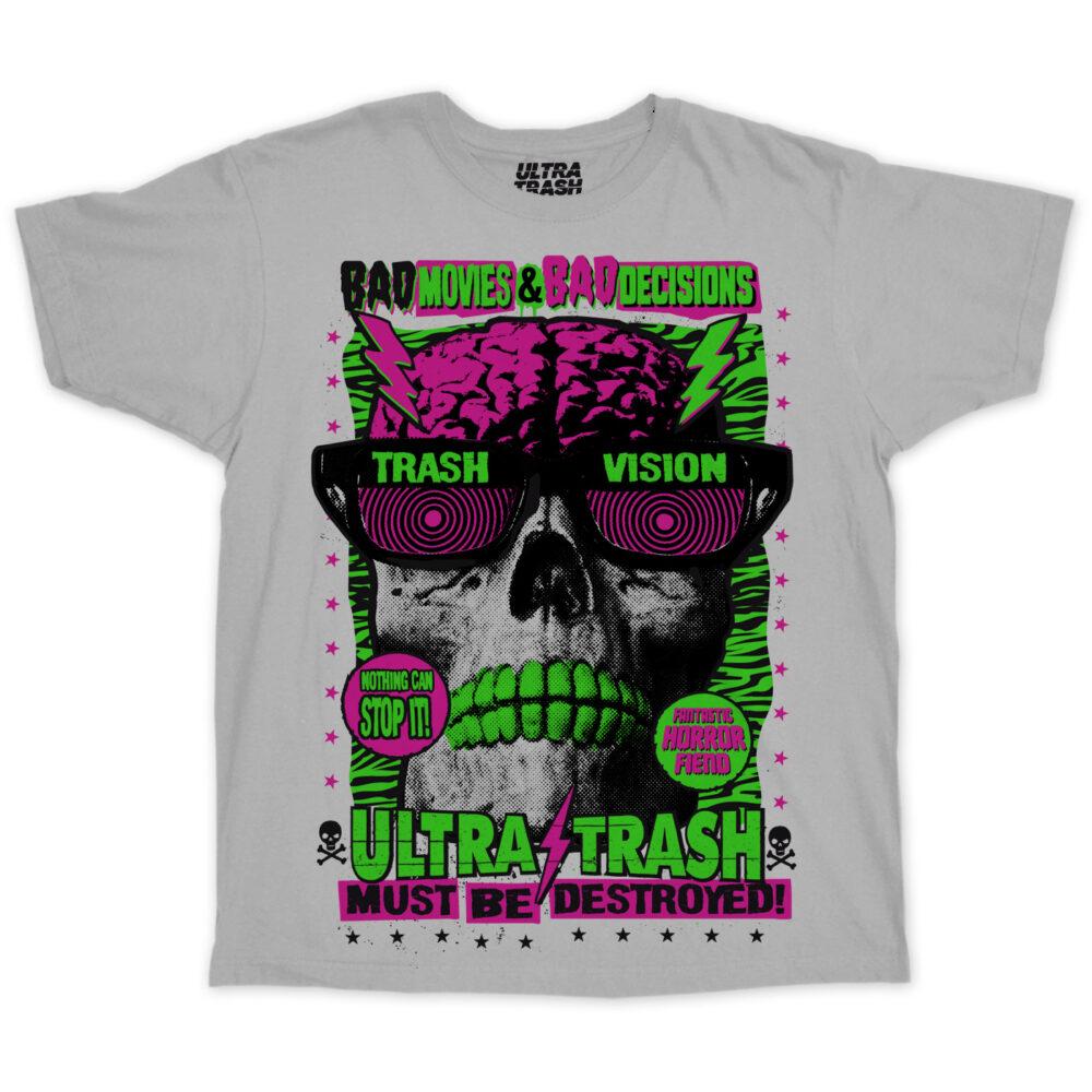 Ultra Trash must be destroyed! T-Shirt Grau