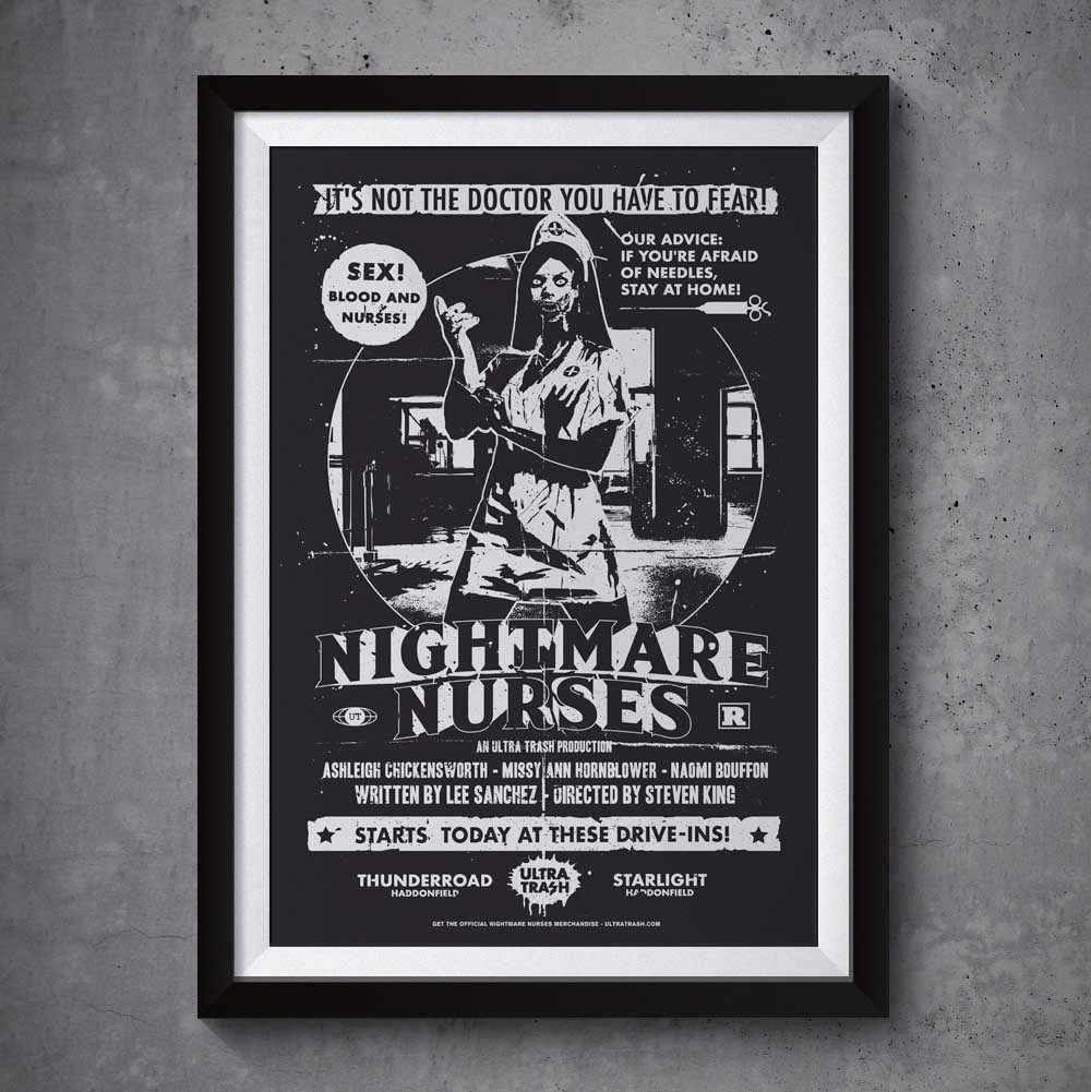 ultra-trash-nightmare-nurses-poster