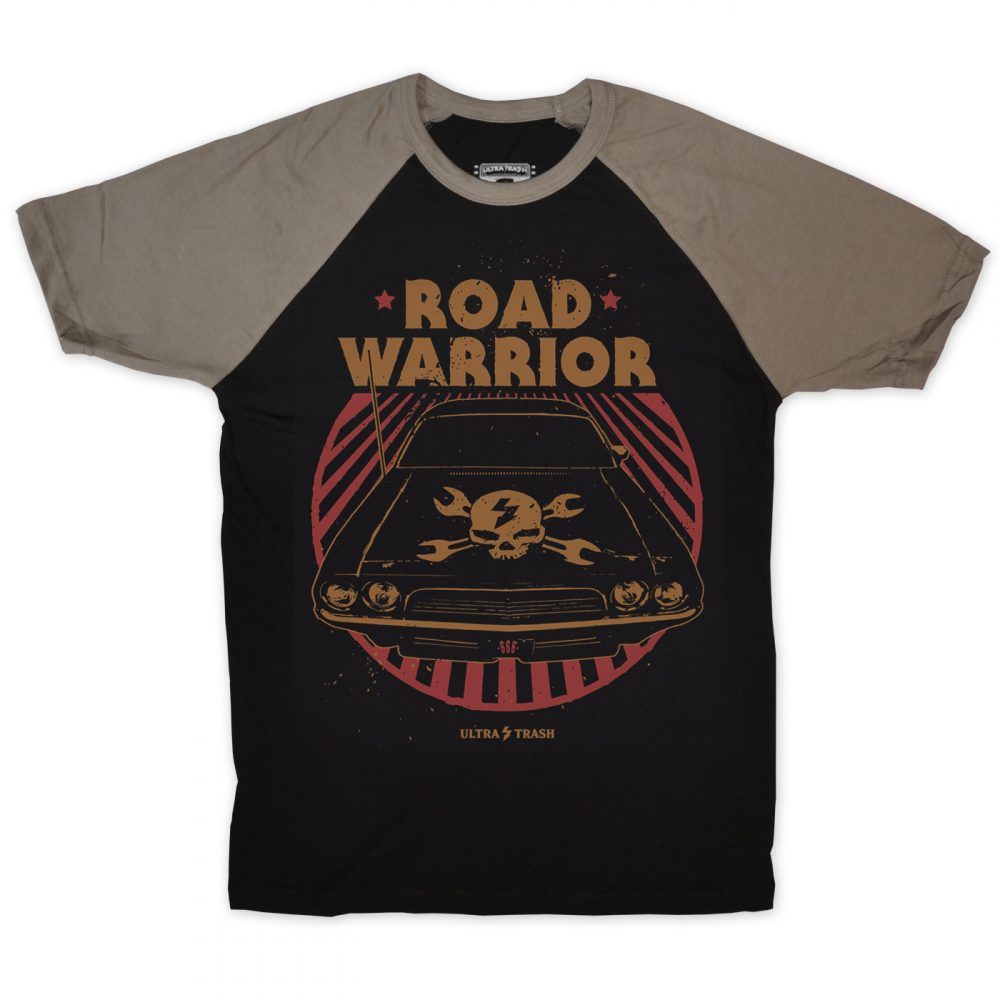 Road Warrior Baseball T-Shirt