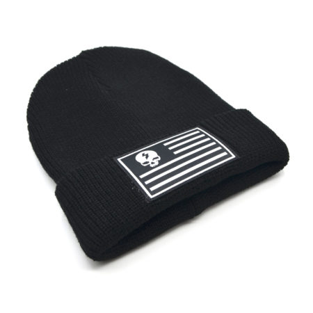 Skull and Stripes Beanie