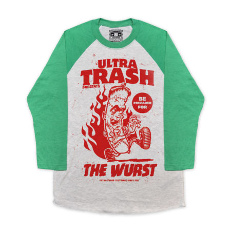 The Wurst Baseball 3/4 Sleeve
