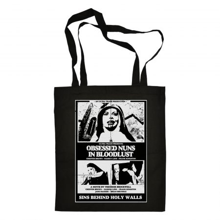 Obsessed Nuns Totebag