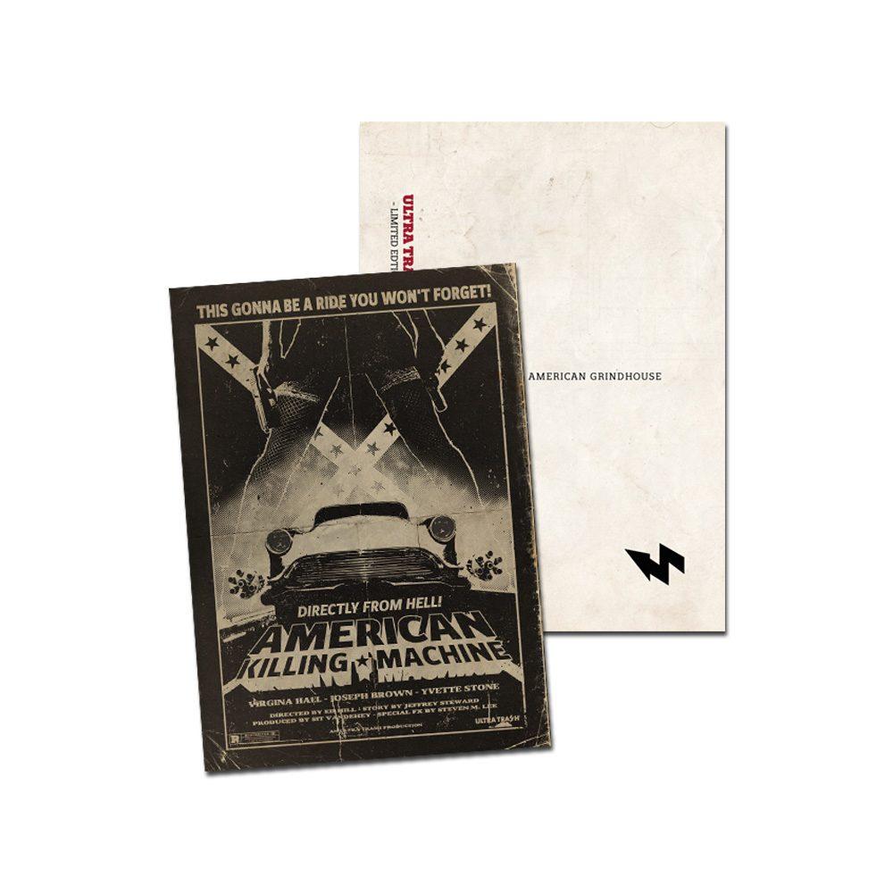 ultratrash-american-killing-machine-postkarte