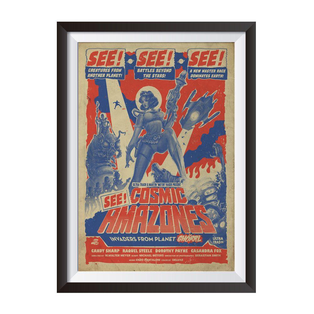 Cosmic Amazones | Poster