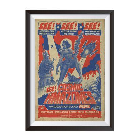 Cosmic Amazones Poster