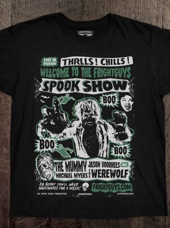 Spookshow T-Shirt Green