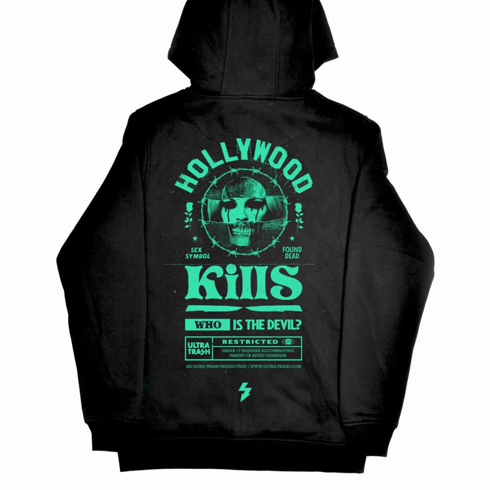Hollywood Kills hooded zipper