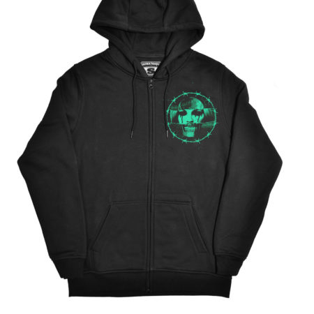 Hollywood Kills hooded zipper
