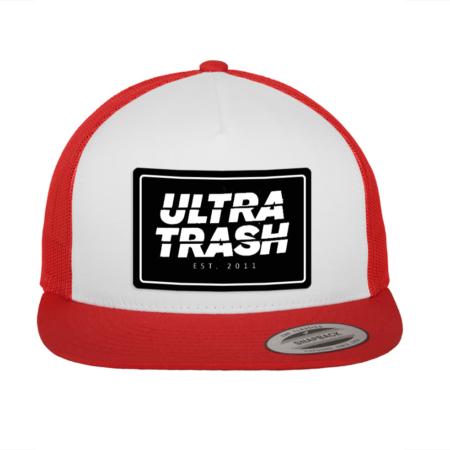 Logo Trucker Snapback Cap Rot