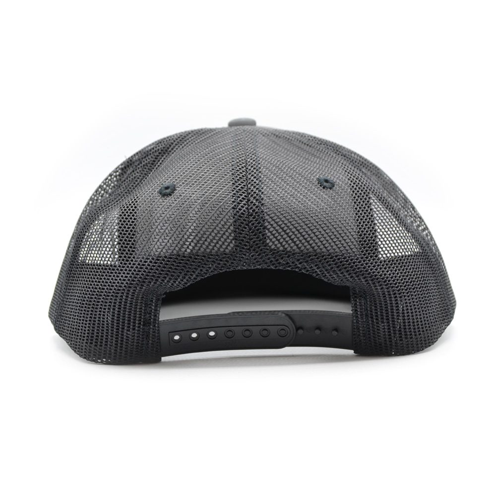 Skull and Stripes Trucker Snapback Cap