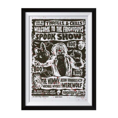 Spookshow Siebdruck Poster