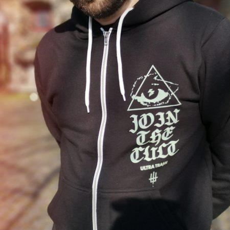 The Cult Hooded zipper
