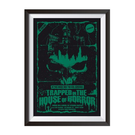 Trapped in the house of horror 2018 | Poster