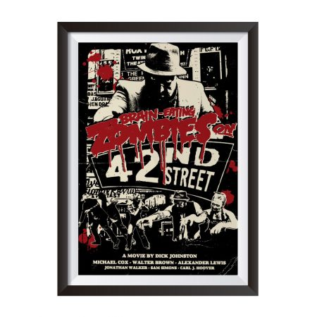 Zombies on 42nd Street – Poster