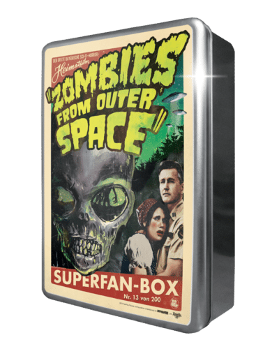 Zombies from outer Space Metalbox